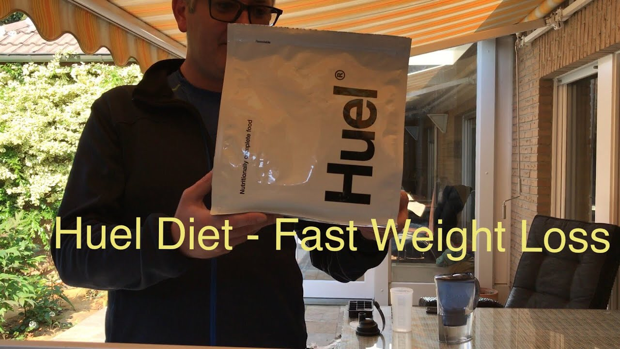 HUEL Review: 3.2kg (7 pounds) weight loss in 3 weeks