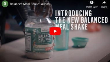 Launching Ambronite Balanced Meal Shake Vanilla