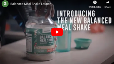 Launching Ambronite Balanced Meal Shake Vanilla