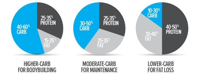 Things to consider when picking a ?lent: Part 3 ? Macronutrient ratios for different situations