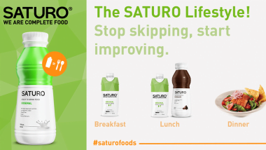 The SATURO Lifestyle! Stop skipping, start improving.