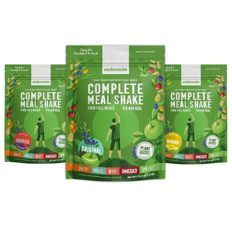 Complete Meal Shake Carton