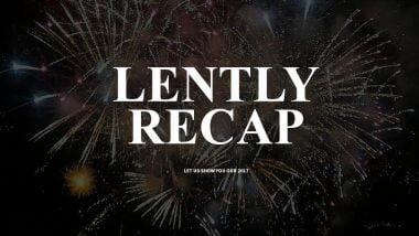 Lently's Recap of 2017