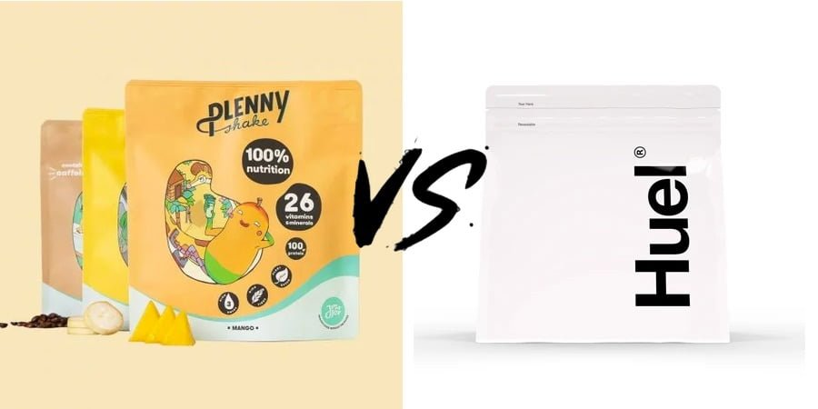 Plenny Shake VS Huel Powder