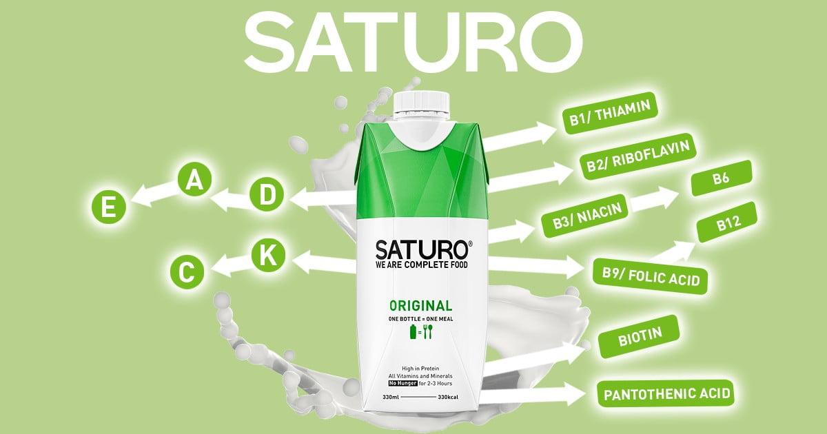 The Essential Vitamins in SATURO