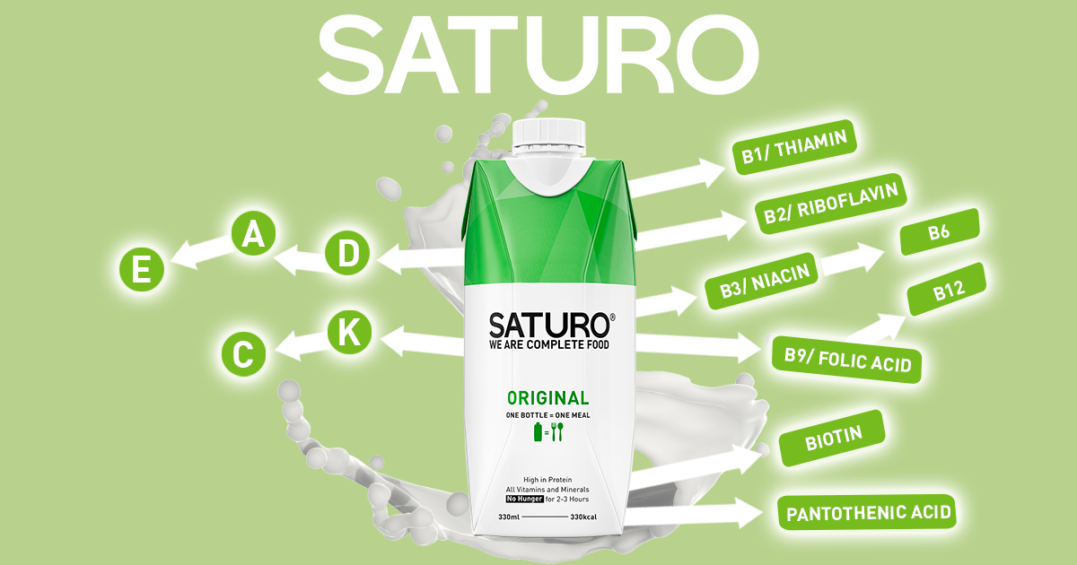 The Essential Vitamins in SATURO