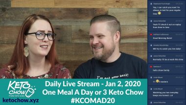 KCOMAD20 – My plan for 2020: Doing One Keto Meal A Day or 3 Keto Chow