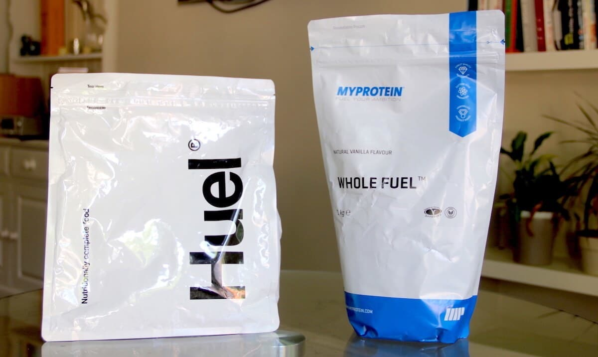 """Whole Fuel Vs Huel. Which Is The Best Meal Replacement Supplement?"""
